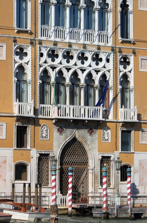 Renaissance palace in the Grand Canal of Venice, Italy Stock Photo - 17356609