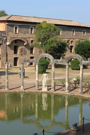 Rome, Italy - September 24, 2011: Canopus in Hadrian Villa near Rome Stock Photo - 17713095