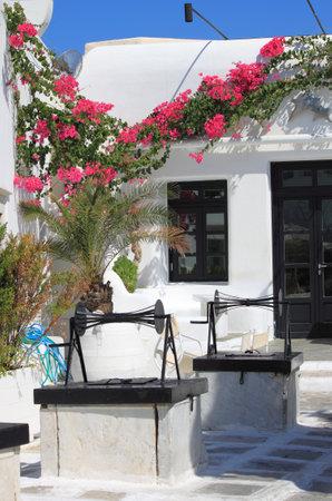 Mykonos, Greece - August 1, 2012: Urban scenic of Mykonos, Greece Stock Photo - 18115079