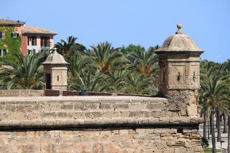 sentry: Sentry box at Dalt Murada in Palma de Mallorca, Spain