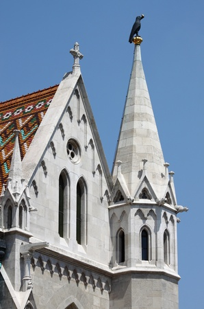 Fachada de la Iglesia de Mat�as en Budapest, Hungr�a photo
