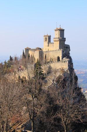 san marino: Rocca della Guaita, the most ancient fortress of San Marino Republic