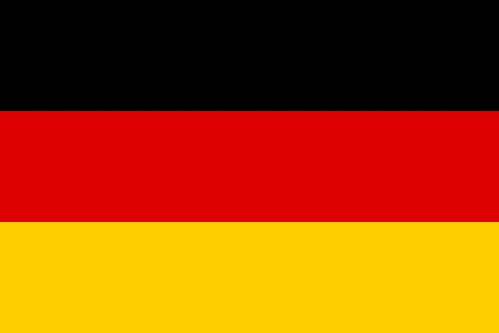 Official flag of Germany nation