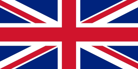 Official flag of UK nation photo