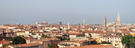 st mark: Panoramic view of Venice, Italy