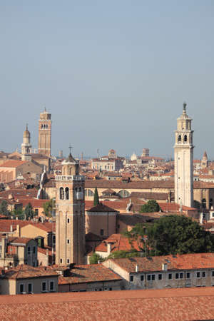Bell towers in Venice, Italy Stock Photo - 21583982