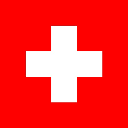 Official flag of Switzerland photo