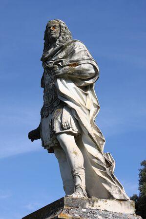 Statue of Cosimo III dei Medici in San Quirico d