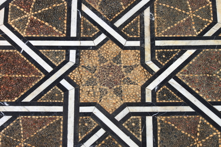Typical moroccan tiled floor Stock Photo - 22220118