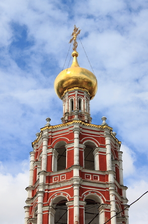 petrovka: Church of the Protection of the Holy Mary in the Vysokopetrovsky Monastery  Moscow, Russia