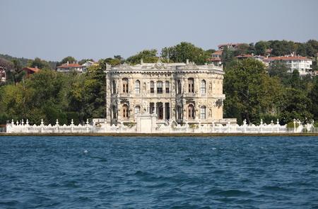 Kucuksu Pavilion built by Sultan Abdulmecit in Istanbul, Turkey photo