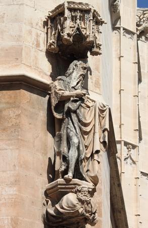 Statue of a saint in La Lonja monument  Palma de Mallorca, Spain Stock Photo - 22310565
