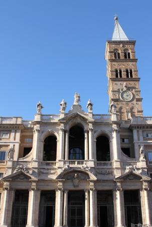 Saint Mary Major Basilica in Rome, Italy photo