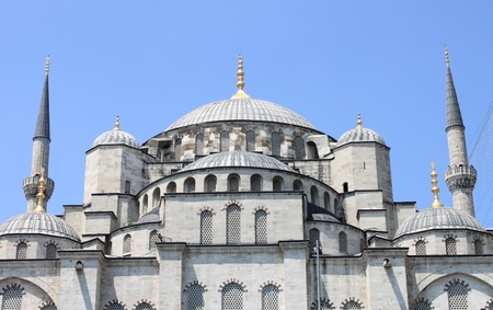 Sultan Ahmed Mosque in Istanbul, Turkey photo