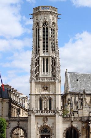 chimes: Church of Saint Germain lAuxerrois in Paris France