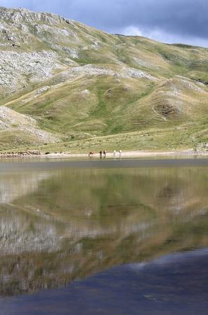 lazio: Lake of the Duchess. Lazio, Italy