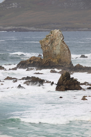 achill: Achill Island coastline. County Mayo, Ireland
