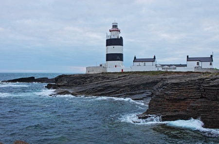Hook Lighthouse at Hook Head, County Wexford, Ireland - HDR