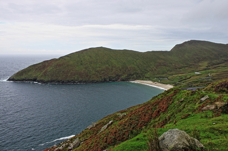 Keem Beach in Achill Island, Ireland Stock Photo