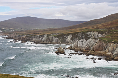 Achill Island coastline. Wild Atlantic Way, Ireland