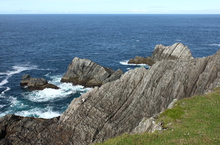 Malin Head in County Donegal, the northernmost point of Ireland