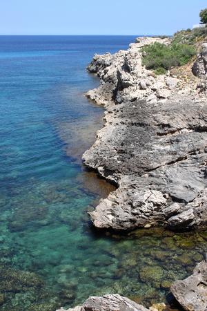 limpid: Beautiful mediterranean beach in Mallorca, Spain