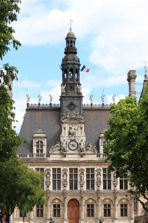 ville: City Hall of Paris, France