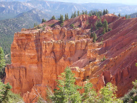 Multiple crags in Bryce Canyon National Park, USA