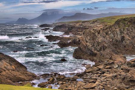 Achill Island coastline. County Mayo, Ireland