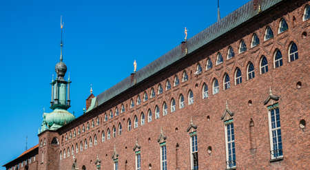city ??hall building stockholm Editorial