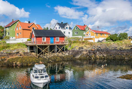the landscape of norway Stock Photo