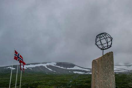 monument arctic polar circle Editorial