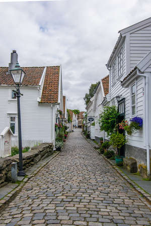 the typical village of stavanger Editorial