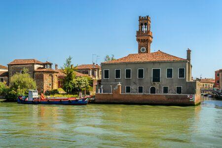 Murano: View of Murano, Venice Editorial