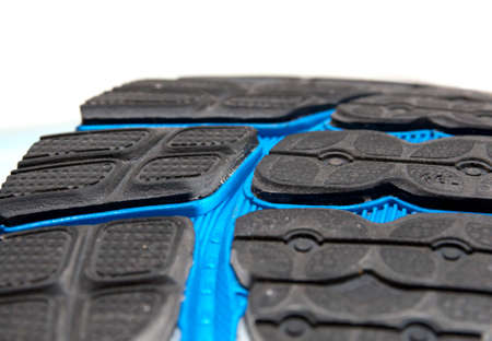 outsole: Running shoe  the outsole Stock Photo