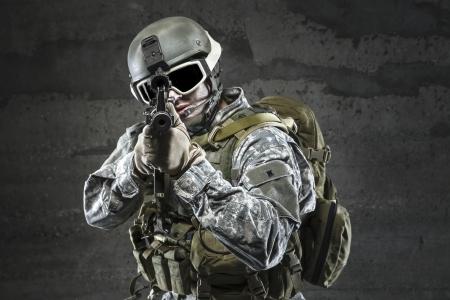 兵士でライフルを目指して