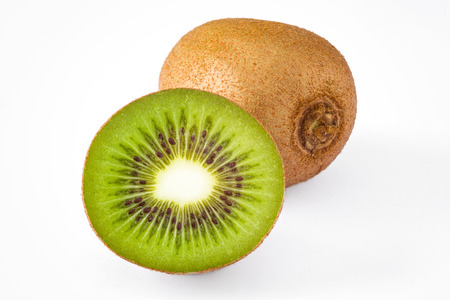 kiwi fruta: aislado conjunto anf medio kiwi
