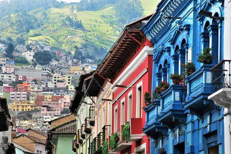 Colonial Architecture in Quito, Ecuador