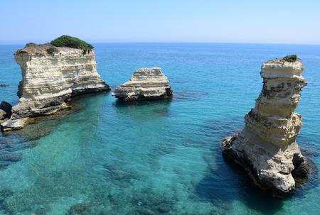 Coastline near Otranto, Italy