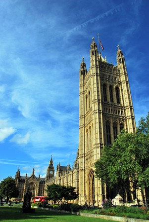 Westminster Parliament in London, UK