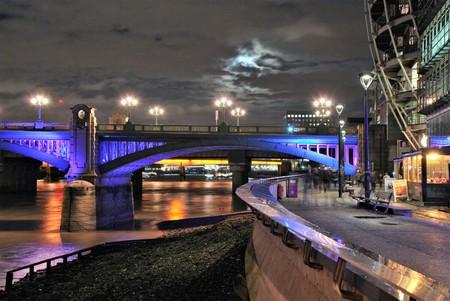 South Bank in London, UK