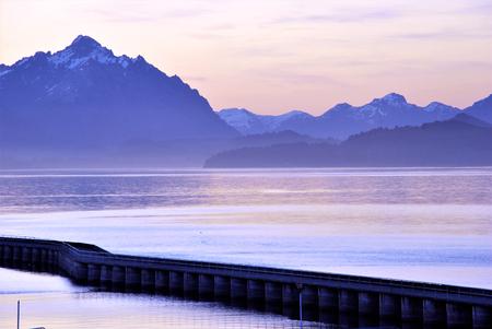 Landscape in Bariloche, Argentina