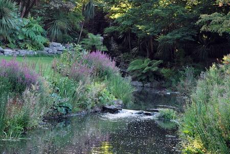 Garden in Hyde Park, London, UK