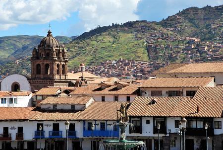 Plaza de Armas in Cuzco, Peru