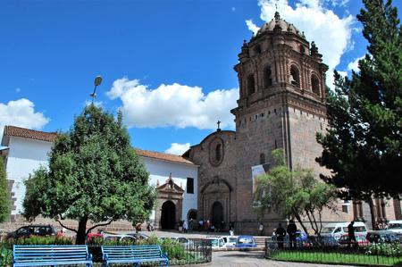 Coricancha in Cuzco, Peru Editorial