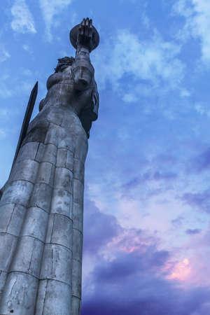 Mother of Georgia. Statue of Kartlis Deda Stock fotó - 82217768
