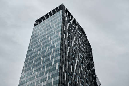 modern building in the city of brussels