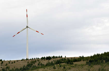 Eolic energy: Wind power through  wind turbines