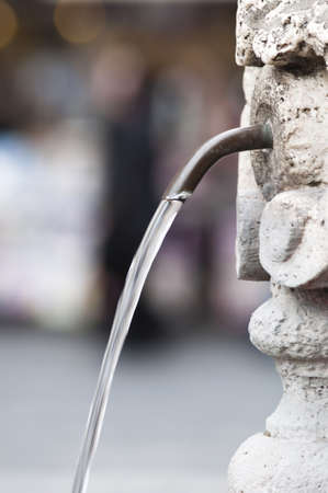 drinkable: A fountain of free drinkable water in Rome