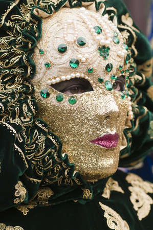 Carnival mask of Venice photo